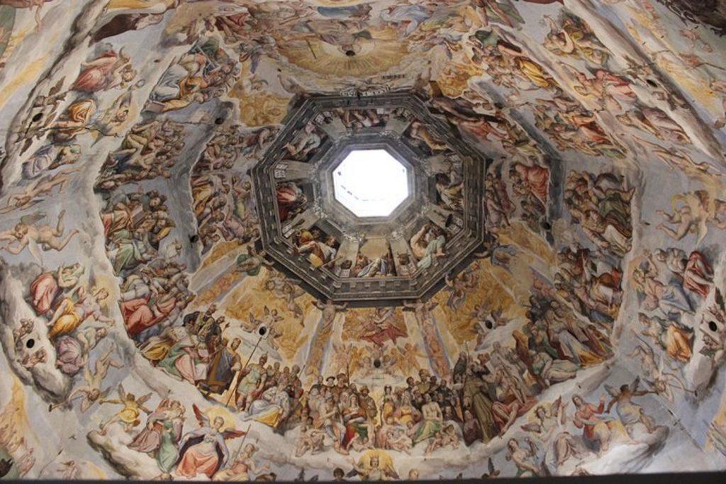affreschi cupola