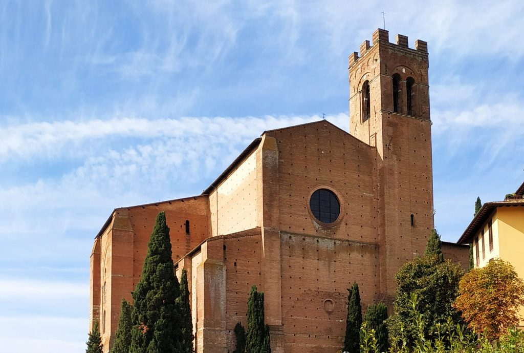 Siena San Domenico Chiesa