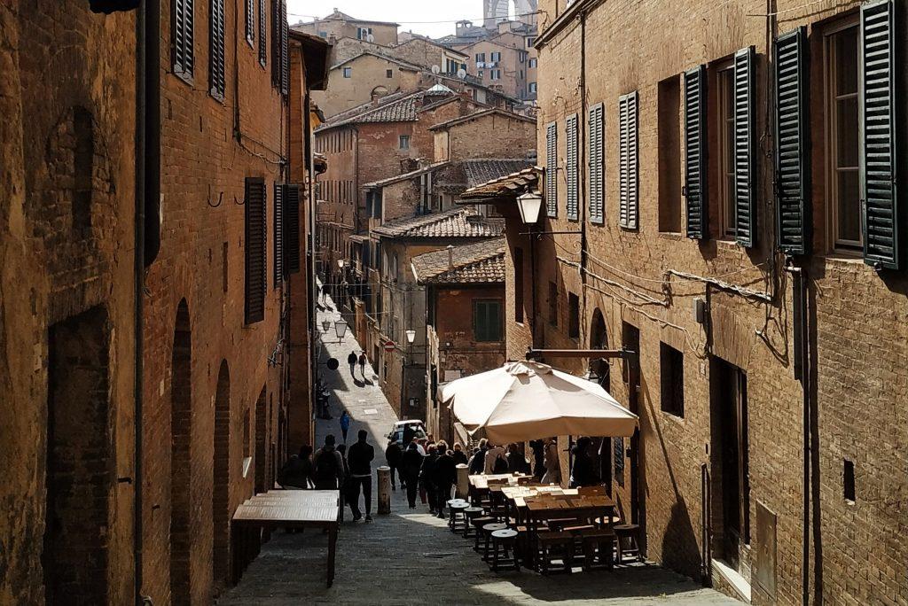 Siena discesa