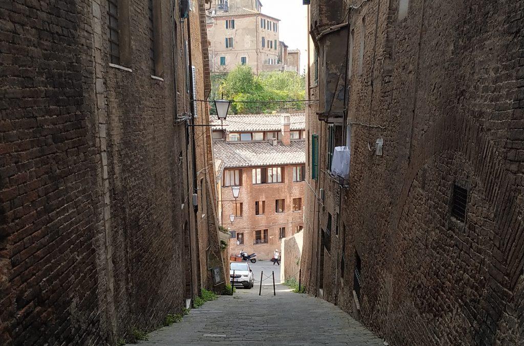 Siena vista discesa
