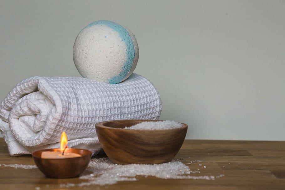candle-cloth-ball-styro-foam