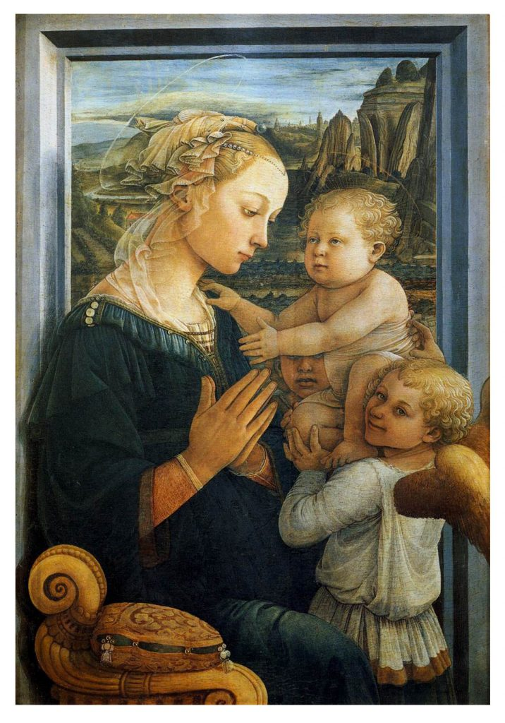 5.Fra_Filippo_Lippi_-_Madonna_with_the_Child_and_two_Angels_-_WGA13307