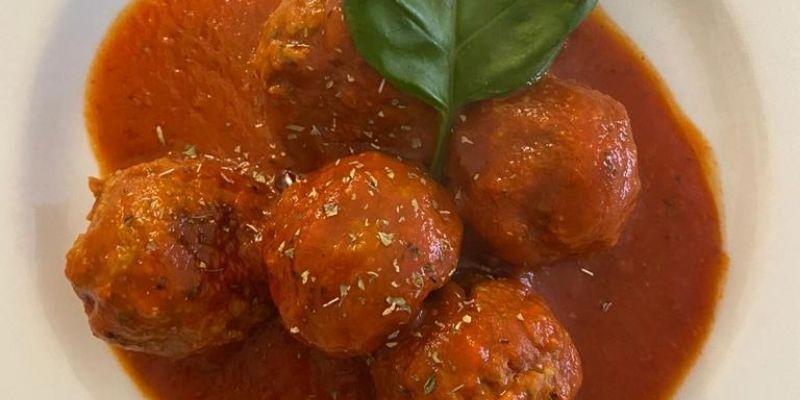 Ravioli e Meatballs 4