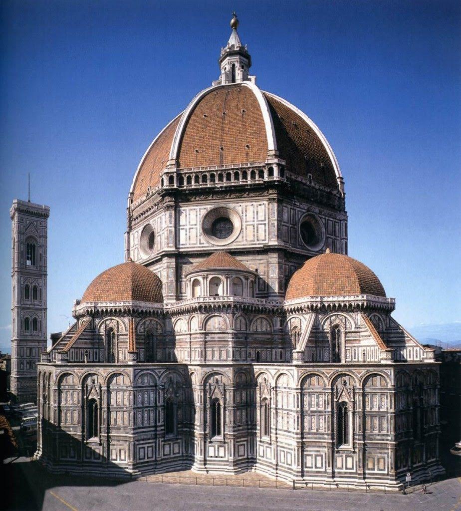 Cattedrale-di-Santa-Maria-del-Fiore-1296-1470-veduta-absidale.-Firenze